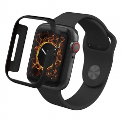 Protector Zagg Invisibleshield Black, Apple Watch