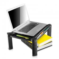 Soporte Kit Ajustable Riser 13' Plastico Negro