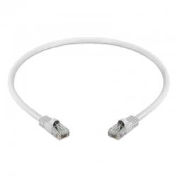 Cable De Red Patch Cord UTP LA Cat5E 30cm Blanco