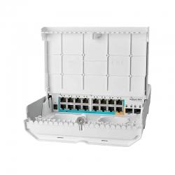 Router Switch Mikrotik netPower 15FR 18 puertos