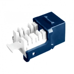 Conector Modular Cablix RJ45 hembra Cat6 azul