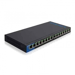 Switch Gigabit PoE Linksys LGS116P 16 puertos