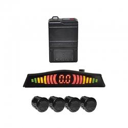Sensor Retroceso EAGLE EYE Pantalla LED Negro