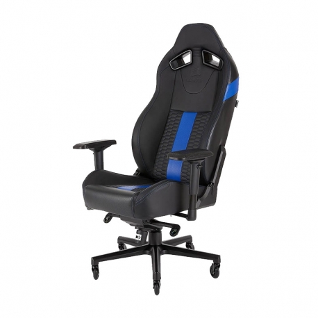 Silla Corsair T2 Road Warrior Gaming- negro/azul