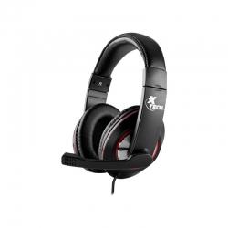 Headset Xtech Kalamos gaming cableado USB- negro