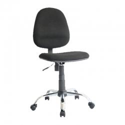 Silla secretarial MS511 base cromada sin brazos