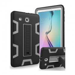 Estuche Covertor para Galaxy Tab E 9.6 3 Capas