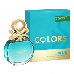 Colonia Benetton Colors Blue Edt Mujer 100 ml