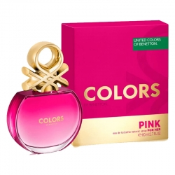 Colonia Benetton Colors Pink Edt 100 Ml para mujer