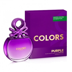 Colonia Benetton Colors Purple Edt Mujer 100 ml