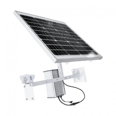 Panel Solar ESS con Bateria 60 Ah Bracket para PTZ