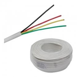 Cable Alarma Casa carrucha 150 Mts 4C X 7/0.2Cca