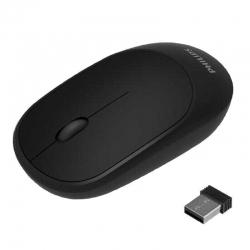 Mouse Philips Inalámbrico USB 2.4 HGz - Negro