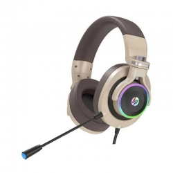HP H500 Headset Gaming Gold Usb/3.5Mm Rgb Cable