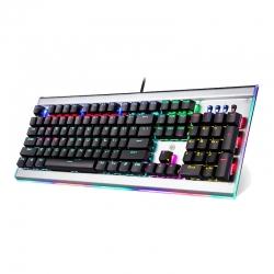 Teclado HP GK520 Gaming RGB arcoíris USB Gris