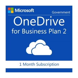 One Drive for Business (Plan 2) Licencia por 1 mes