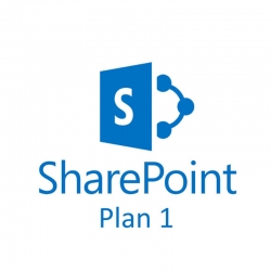 Licencia Microsoft SharePoint (Online Plan 1)