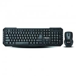 Combo teclado y mouse IMEXX inalámbrico en Inglés