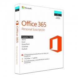 Licencia Microsoft 365 Personal Box Pack 1 año
