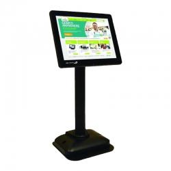 Monitor Bematech LV4000U LCD de poste USB 8.4'