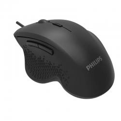 Mouse Philips SPK7444 ergonímico cableado USB