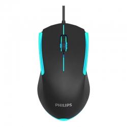 Mouse Philips SPK9314 Iluminación Ambiglow USB