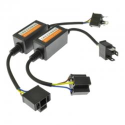Base adaptador Canbus Led Anti.parpadeo LED H4 H/L