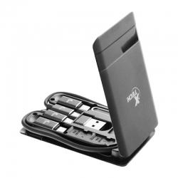 Estuche portátil Xtech Kit de cables USB-C 24pines