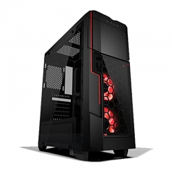 Torre gaming Azza Crimson LED red USB 3.0 / Audio