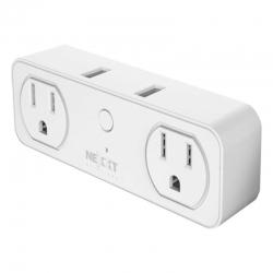 Enchufe Smart NEXXT Toma Corriente Doble Wifi 110V