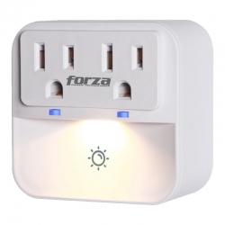 Toma Corriente Forza protector sobretensión LED