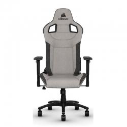 Silla gaming T3 Rush Chair gris, carbón máx 120kg