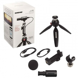 Shure Micrófono estéreo Kit de video Motiv MV88 +