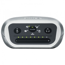 Interfaz de audio Shure Digital Motiv XLR o 6,3mm