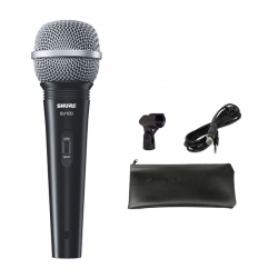 Micrófono Vocal Shure SV100 con enchufe de 6,3mm