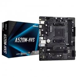 Tarjeta madre AsRock A520M-HVSSocket AM4 AMD Ryzen