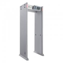 Arco Zkteco Detector de Metales de 33 Zonas HD 7'