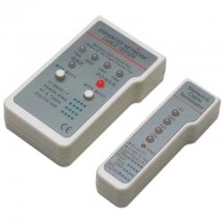 Probador de Cables Multifuncional RJ45 / RJ11
