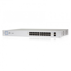 Switch Ubiquiti UniFi PoE + 24 (250W) 1G SFP 24 V