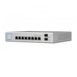 Switch Ubiquiti UniFi 8 150W Gigabit PoE + con SFP