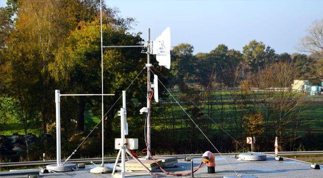Instalación Enlace de datos 2.4 GHz