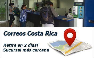 Correos de Costa Rica a Sucursal