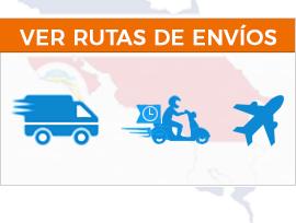 Envíos aéreos y terrestres en Costa Rica